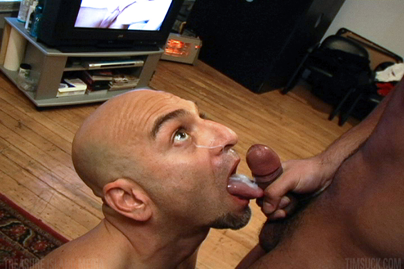 TimSuck-PEDRO-ISAAC-Treasure-Island-Media-Latino-Cock-Sucking-Amateur-Gay-Porn-8 Amateur Straight Latino Gets His First Blowjob From A Guy