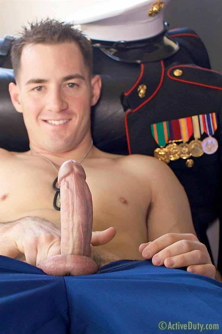 ActiveDuty-Jack-Thick-Cock-Marine-Jerking-Off-Amateur-Gay-Porn-13 Amateur Thick Cock Straight Marine Pulls His Cock Out Of Uniform