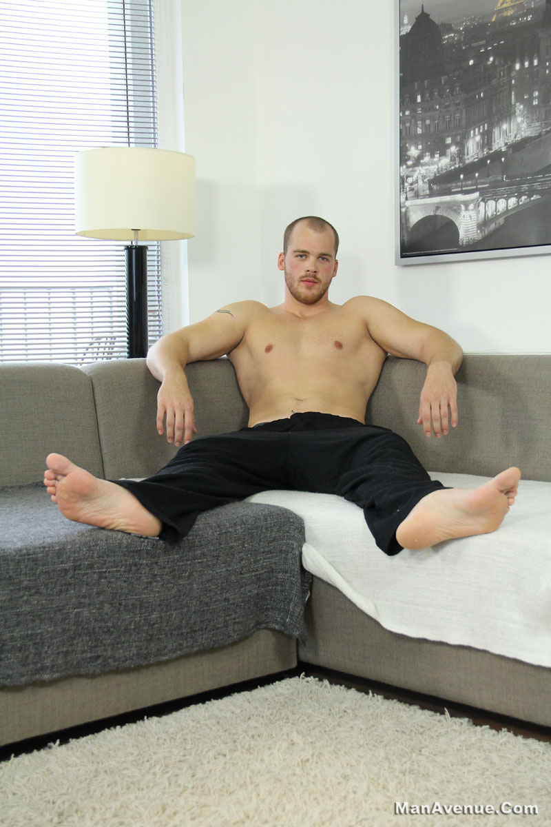 Man-Avenue-John-Twist-Straight-Muscle-Hunk-Jerking-Big-Cock-Amateur-Gay-Porn-02 Amateur Straight Muscle Hunk Jerking His Big Cock Until He Shoots