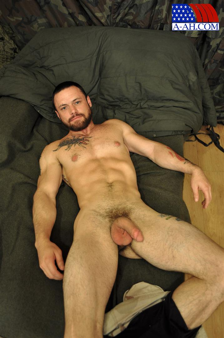 All-American-Heroes-Sergeant-Miles-Army-Guy-Jerking-Off-Big-Cock-And-Fingering-Ass-Amateur-Gay-Porn-07 Happy Veterans Day: Straight US Army Sergeant Jerks His Thick Cock