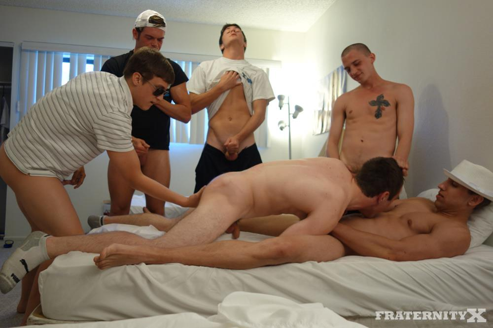 Gay anal college hazing movie he picks up 2