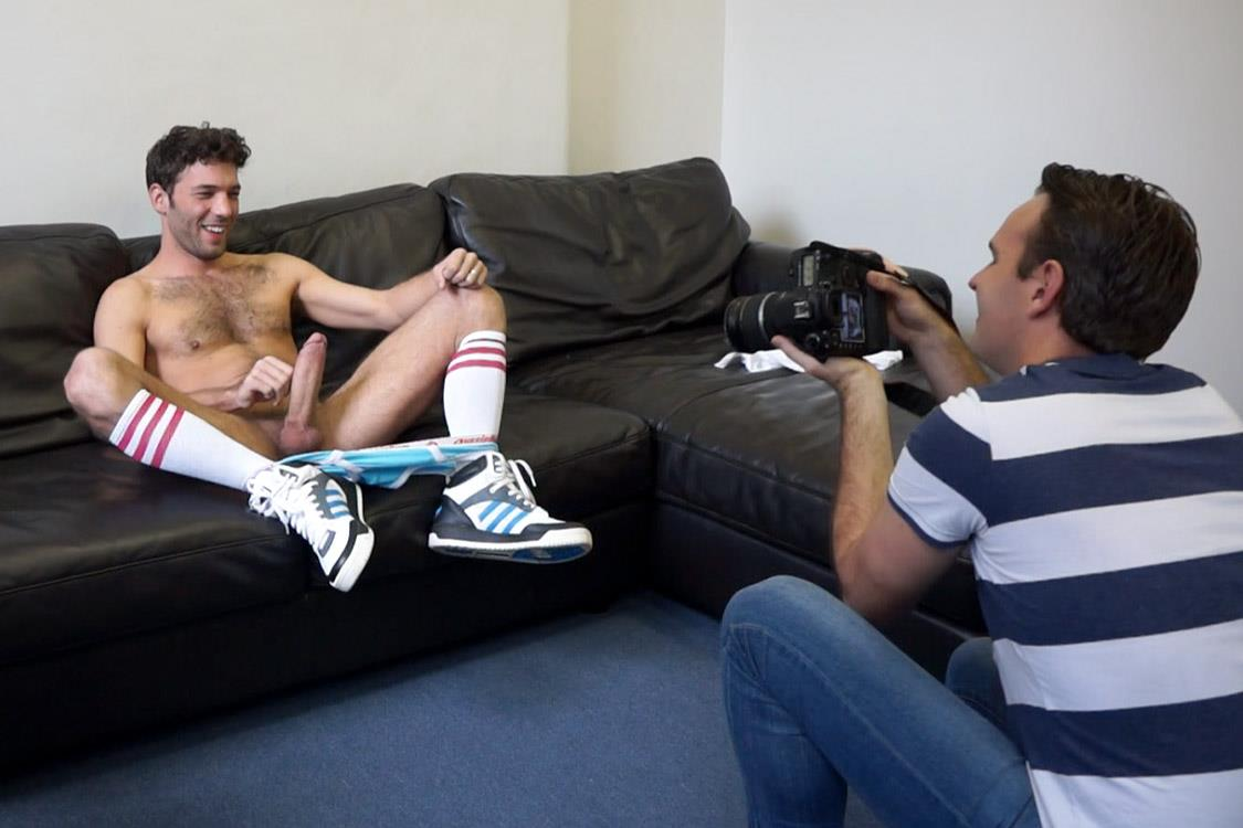 Bentley-Race-Lucas-Duroy-Hairy-French-Guy-With-A-Huge-Uncut-Cock-Amateur-Gay-Porn-23 Amateur 24 Year Old Tall Hairy French Guy Jerks His Huge Uncut Cock