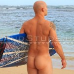 Island-Studs-Justin-Marine-Drill-Sergeant-Stroking-His-Thick-Cock-In-Public-Amateur-Gay-Porn-02-150x150 Amateur Straight Marine Drill Sergeant Jerking Off On A Public Beach