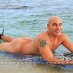 Island-Studs-Justin-Marine-Drill-Sergeant-Stroking-His-Thick-Cock-In-Public-Amateur-Gay-Porn-03-150x150 Amateur Straight Marine Drill Sergeant Jerking Off On A Public Beach