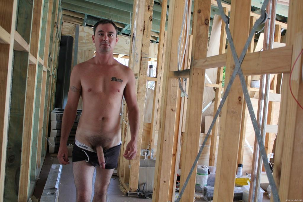 Amateurs Do It Noah Construction Worker Jerking His Big Uncut Cock Amateur Gay Porn 09 Construction Worker Jerking His Big Uncut Cock At the Job Site