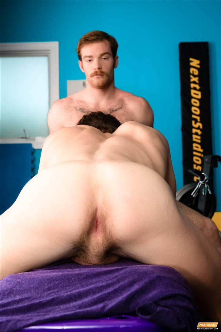 Next Door World James Jamesson and Lance Alexander muscle hunk gets fucked at the gym Amateur Gay Porn 07 Redhead James Jamesson Fucking Muscle Hunk Lance Alexander