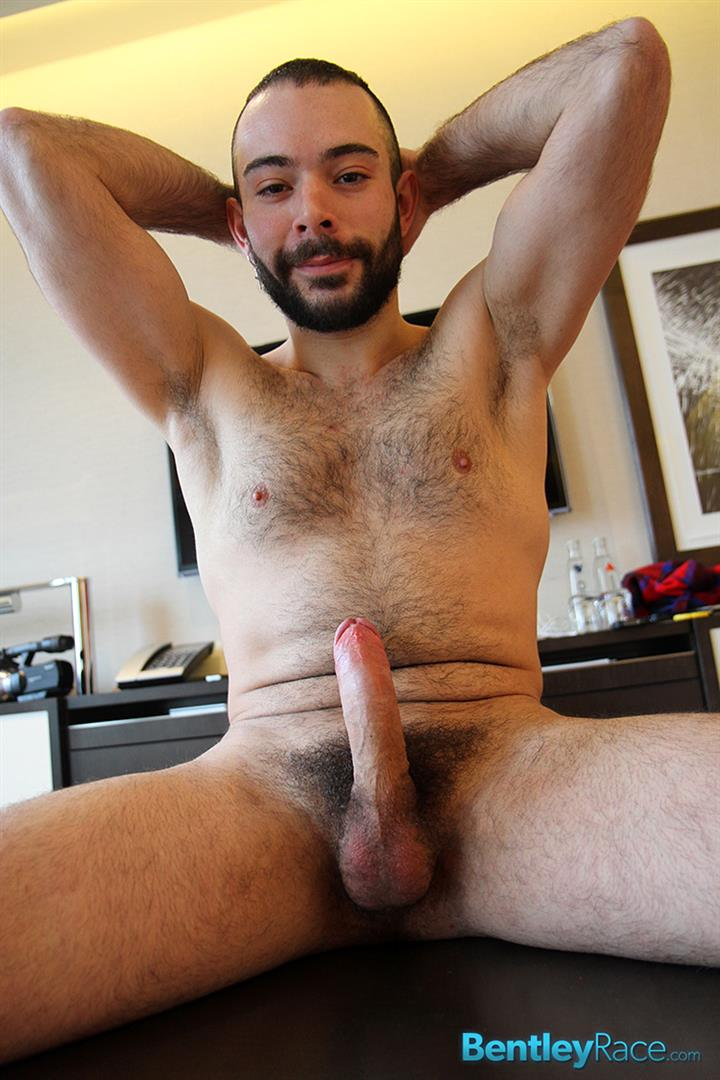 Bentley-Race-Anthony-Russo-Hairy-Italian-Jerking-Off-His-Big-Uncut-Cock-Amateur-Gay-Porn-13 24 Year Old Italian Stud Squirting Cum From His Big Uncut Cock