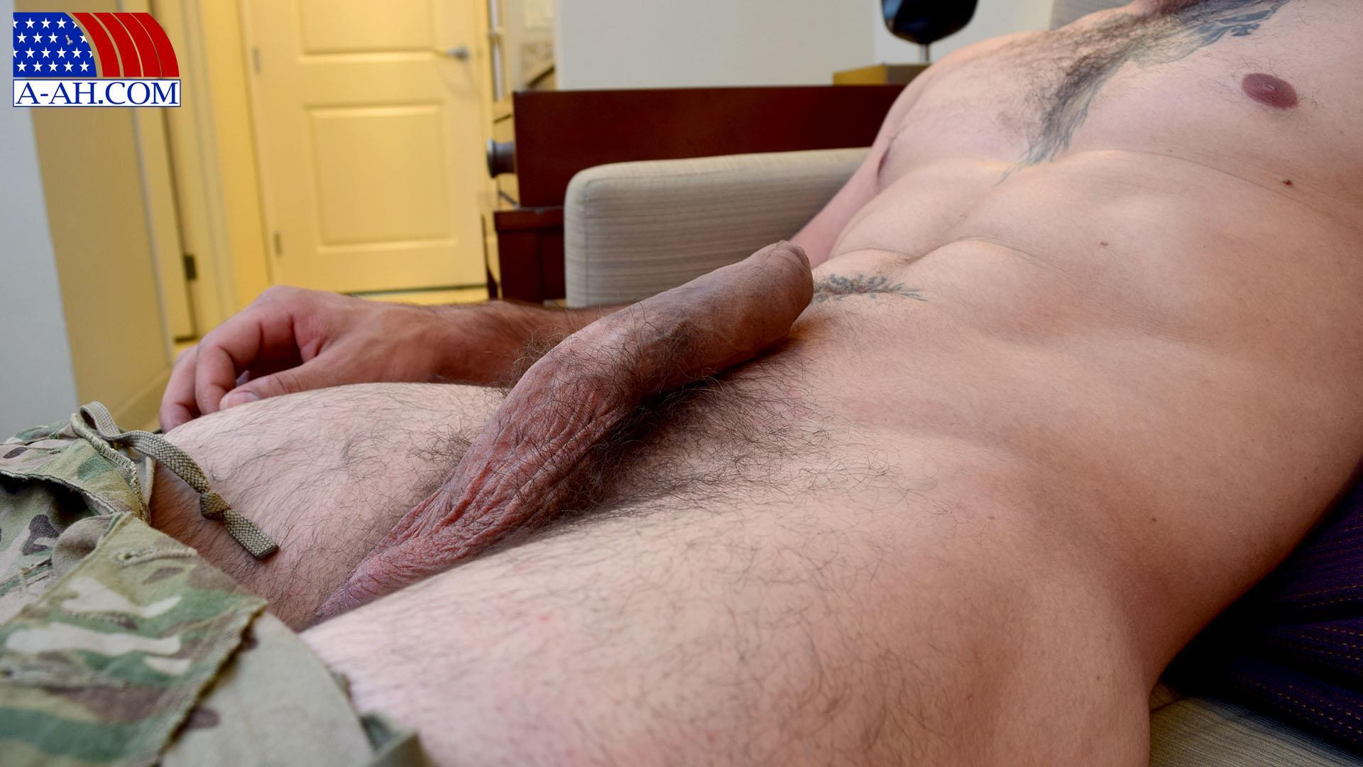 All American Heroes JB US Amry Soldier Jerking His Big Uncut Cock Amateur Gay Porn 06 Amateur Straight US Army Specialist Stroking His Big Uncut Cock