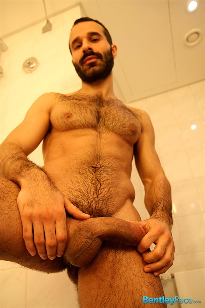 Bentley Race Aybars Hairy Turkish Guy With A Huge Cock Jerking Off Amateur Gay Porn 18 Hairy Turkish Guy Aybars Jerking His Thick Cock In The Shower