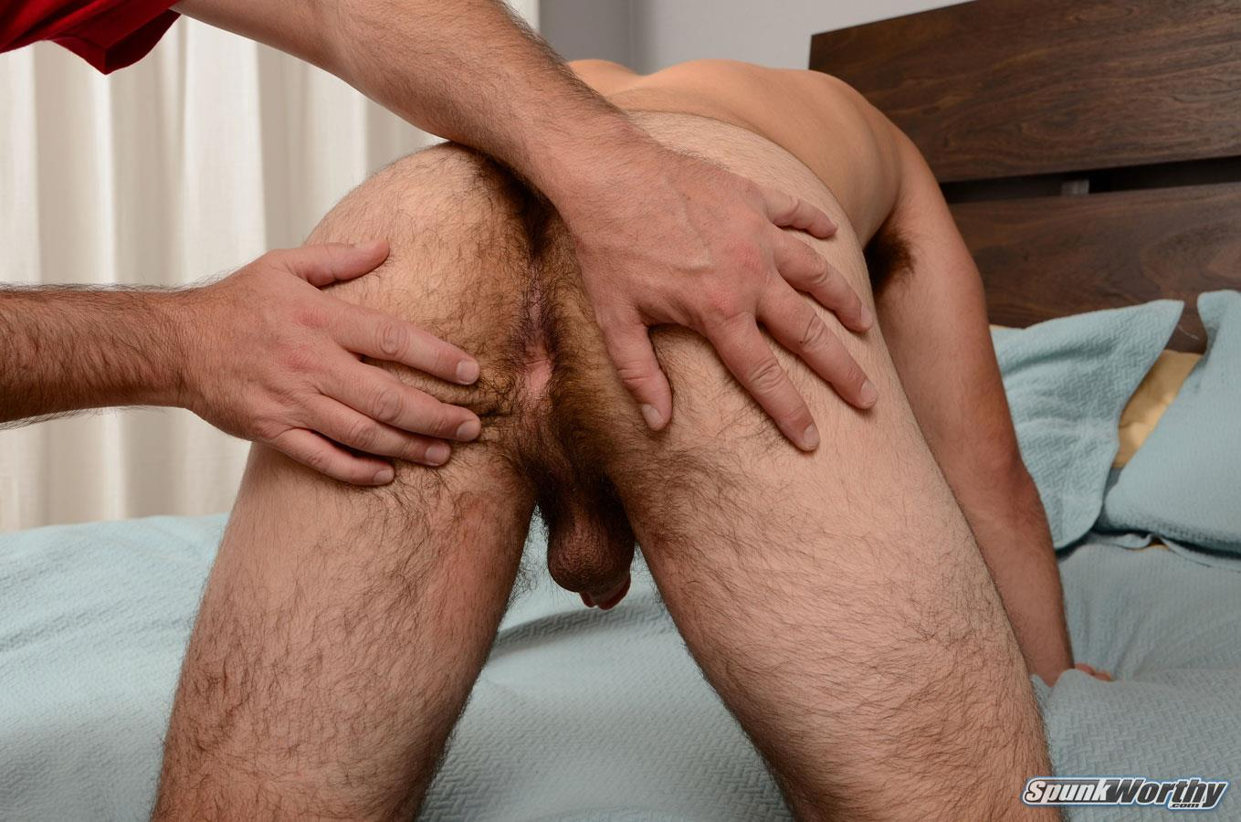 SpunkWorthy-Nevin-Straight-Marine-With-A-Hairy-Ass-Getting-A-Gay-Blowjob-Amateur-Gay-Porn-08 Straight Marine Gets Jerked and Sucked By Another Guy