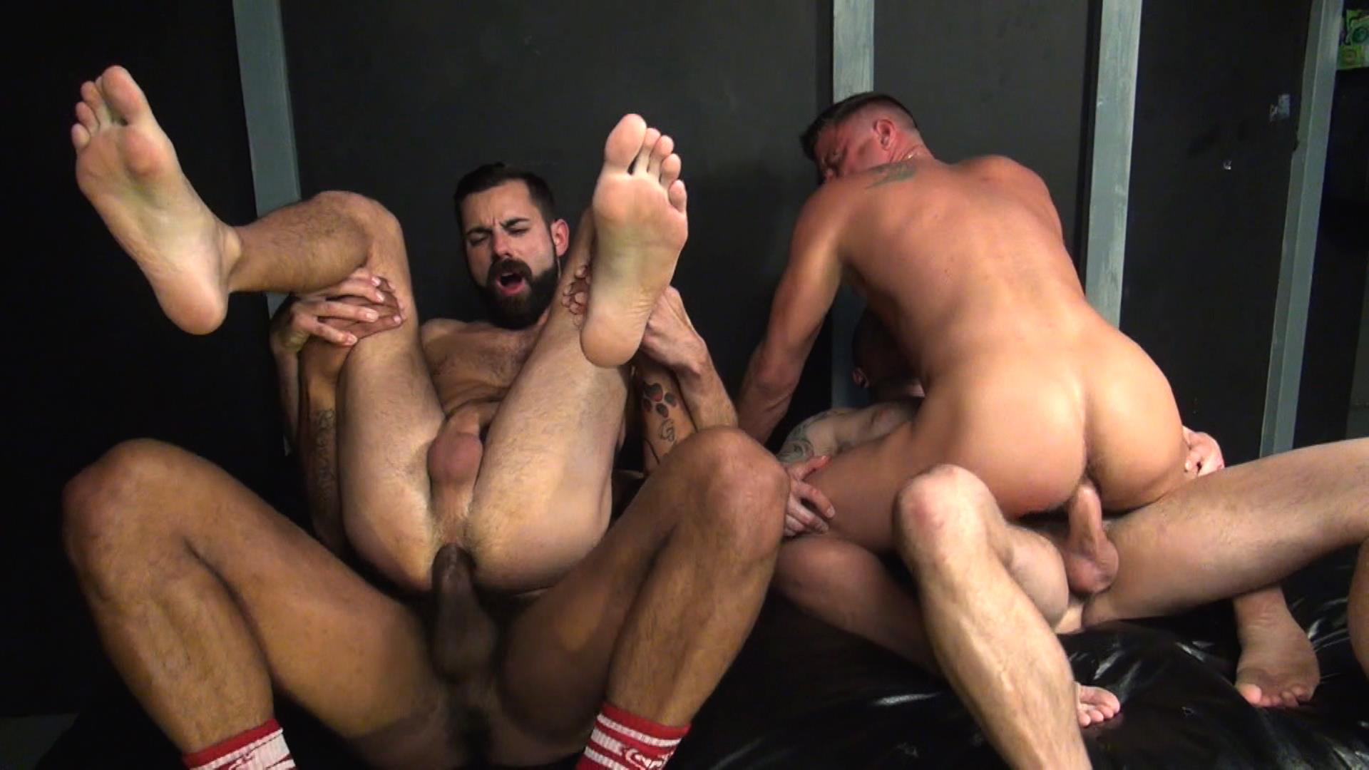 Raw-Fuck-Club-Raw-Fuck-Club-Max-Cameron-and-Christian-Matthews-and-Kory-Mitchel-and-Dean-Brody-Bareback-Bathhouse-Amateur-Gay-Porn-8 Four Way Bareback Fucking And Cum Fest At The Bathhouse