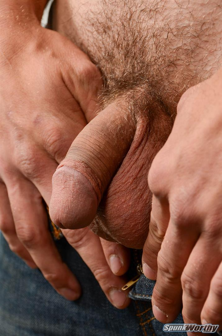 SpunkWorthy-Jake-Straight-Hairy-Navy-Bear-Cub-Jerking-Off-Amateur-Gay-Porn-04 Straight Hairy Navy Bear Cub Jerks His Hairy Cock