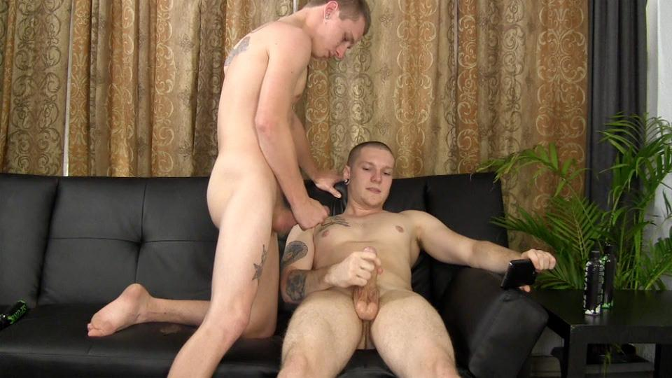 Straight-Fraternity-Two-Striaght-College-Guys-Jerking-Off-Together-Amateur-Gay-Porn-22 Amateur Hung Straight College Guys Jerking Off Together