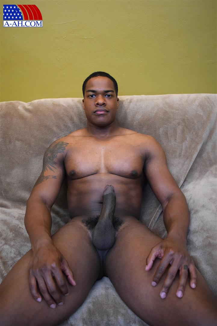 All-American-Heroes-Sean-Muscle-Navy-Petty-Officer-Jerking-Big-Black-Cock-Amateur-Gay-Porn-10 Big Muscular Black Navy Petty Officer Jerking His Big Black Cock