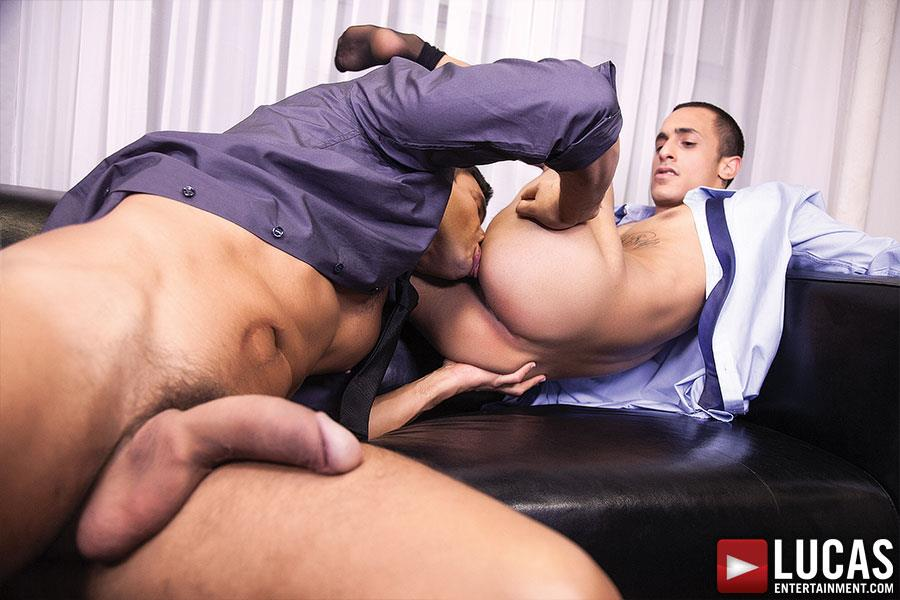Lucas-Entertainment-Rafael-Carreras-and-Rico-Romero-Big-Uncut-Cock-Bareback-Amateur-Gay-Porn-09 Rafael Carreras Barebacking Rico Romero With His Big Uncut Cock