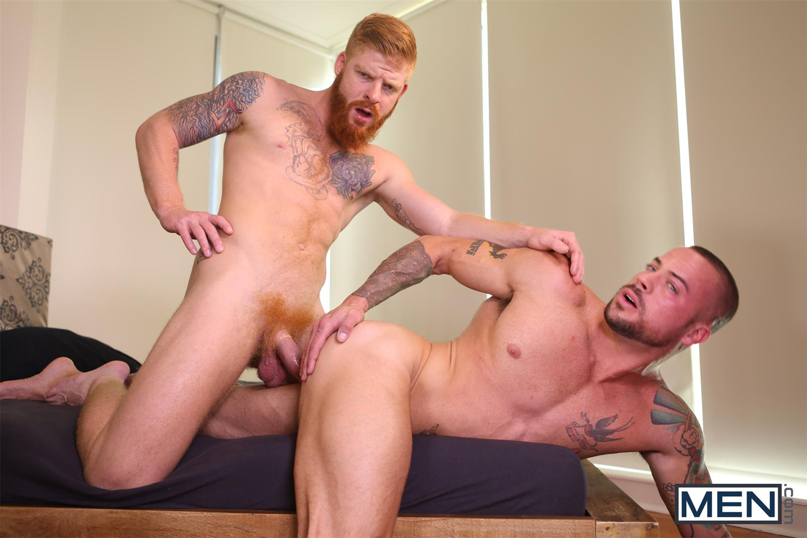 Men-Bennett-Anthony-and-Sean-Duran-Naked-Redhead-Muscle-Guys-Fucking-Amateur-Gay-Porn-11 Bennett Anthony Fucking A Muscle Hunk With His Big Ginger Cock