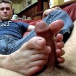 Toegasms Bryce Corbin and Chris Porter Male Foot Job Feet Cum Amateur Gay Porn 07 150x150 Amateur Straight Boy Gives His Gay Buddy A Foot Job
