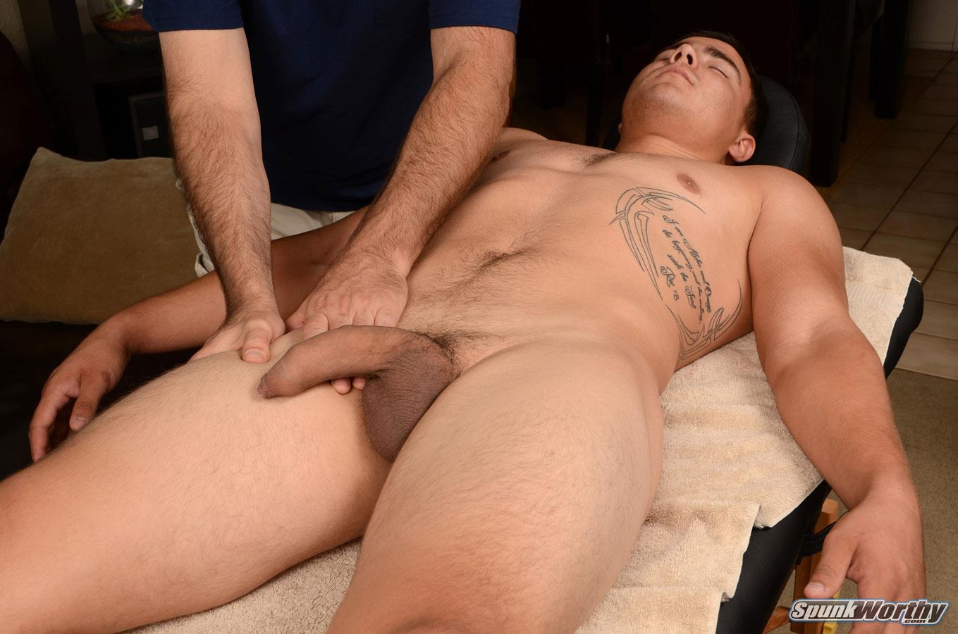 SpunkWorthy Yuri Straight Marine Getting Massage With A Happy Ending Big Uncut Cock Amateur Gay Porn 09 Straight Uncut Marine Gets A Massage With A Happy Ending From A Guy