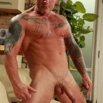 Butch-Dixon-Big-T-British-Muscle-Daddy-With-A-Big-Uncut-Cock-Amateur-Gay-Porn-14-150x150 British Muscle Daddy Jerking Off His Big 9