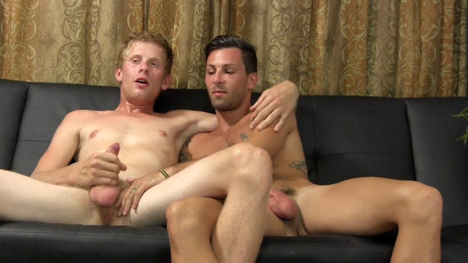 Straight-Fraternity-Jason-Straight-Guy-Sucks-His-First-Cock-Uncut-Dick-Amateur-Gay-Porn-28 Straight Hunk Auditions For Gay Porn By Sucking Cock & Eating Cum