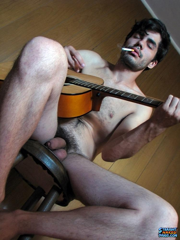 Straight-Naked-Thugs-Devin-Reynolds-Hairy-Twink-With-A-Huge-Uncut-Cock-Jerking-Off-Amateur-Gay-Porn-09 Bisexual Indie Guitarist Strokes His Huge Uncut Cock