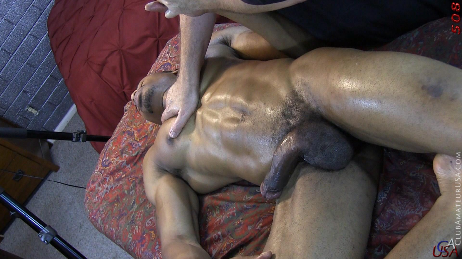 Club-Amateur-USA-Gracen-Straight-Big-Black-Cock-Getting-Sucked-With-Cum-Amateur-Gay-Porn-54 Straight Ghetto Thug Gets A Massage With A Happy Ending From A Guy