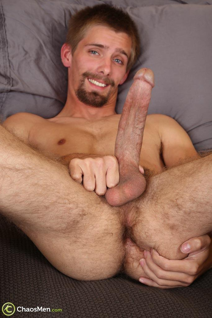 Chaosmen-Augustine-Straight-Guy-With-A-Big-Horse-Cock-Amateur-Gay-Porn-29 Skinny Redneck With A Hairy Ass Stroking His 10