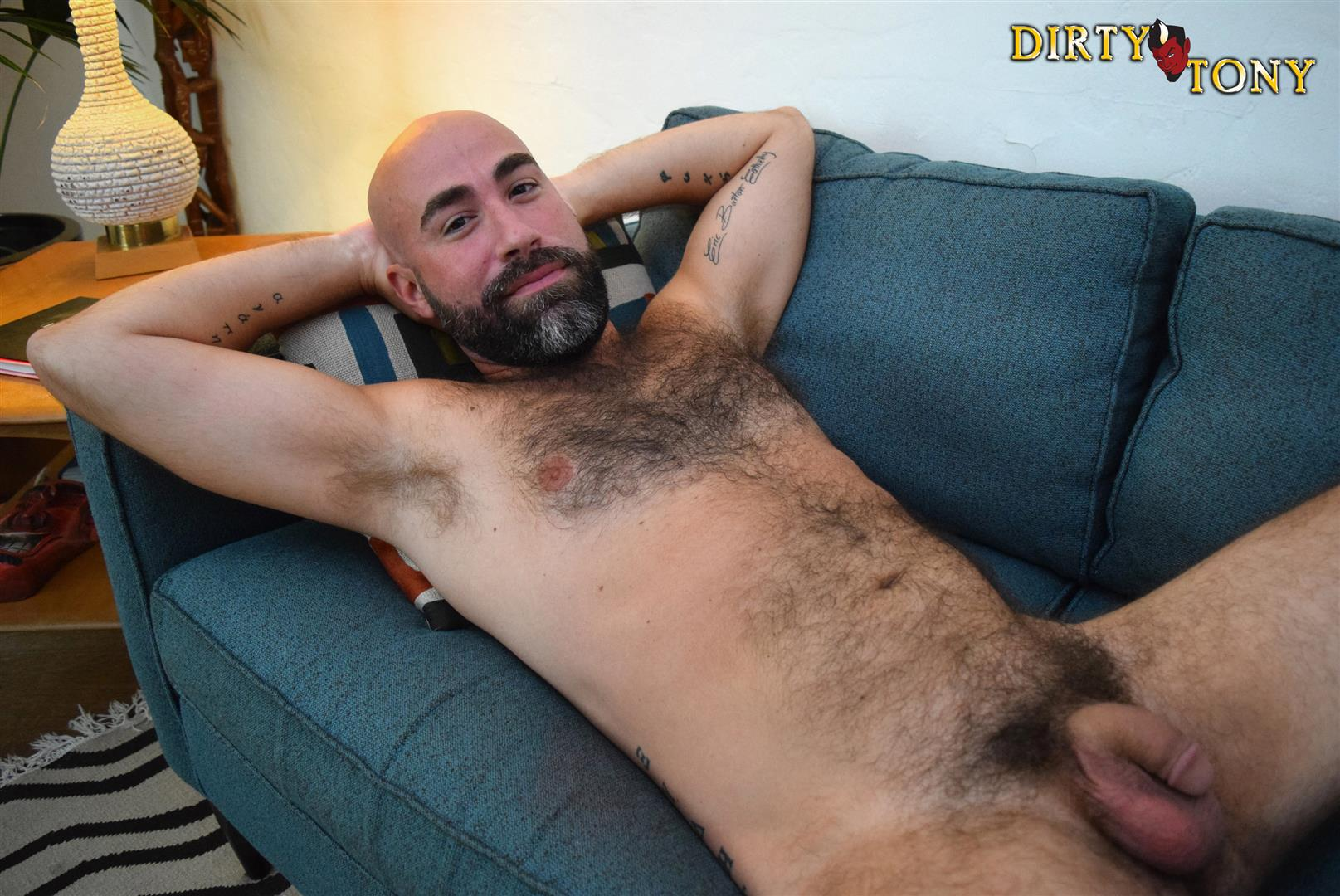 Dirty Tony Damon Andros Hairy Otter With A Thick Cock Amateur Gay Porn 04 Jocked Up Furry Otter Stroking His Thick Cock