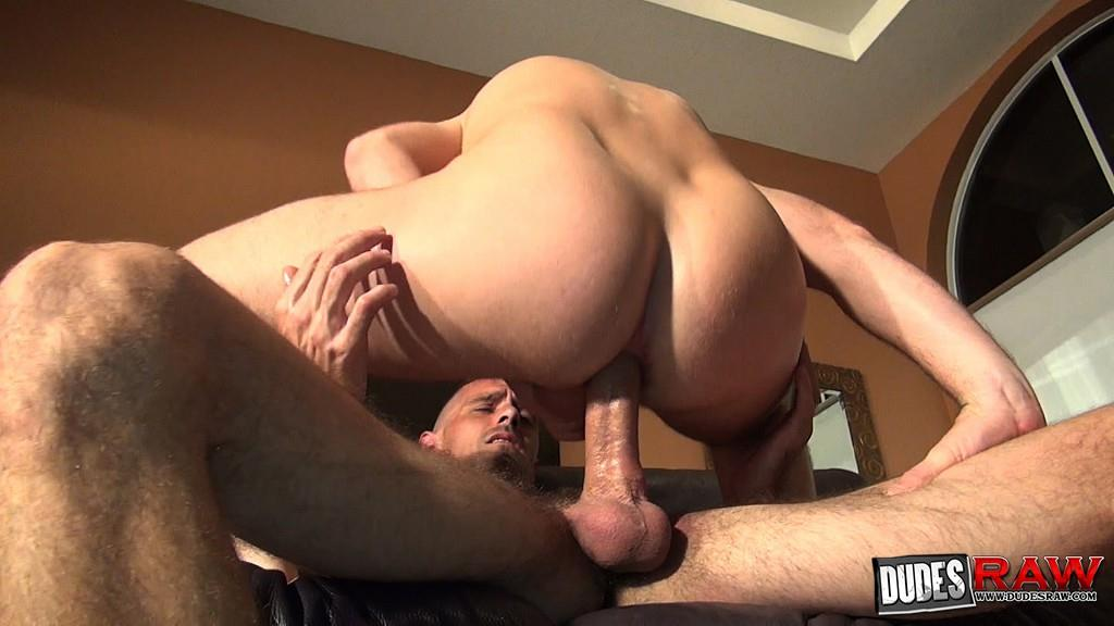 Dudes-Raw-Brett-Bradley-and-Trit-Tyler-Blue-Collar-Guys-Bareback-Sex-Amateur-Gay-Porn-51 Blue Collar Guys Share A Bareback Breeding