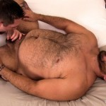 Stocky Dudes Dylan Ventura and Evan Ellis Bear and A Cub Bareback Amateur Gay Porn 05 150x150 Chubby Cub And A Hairy Muscle Bear In A Bareback Fuck