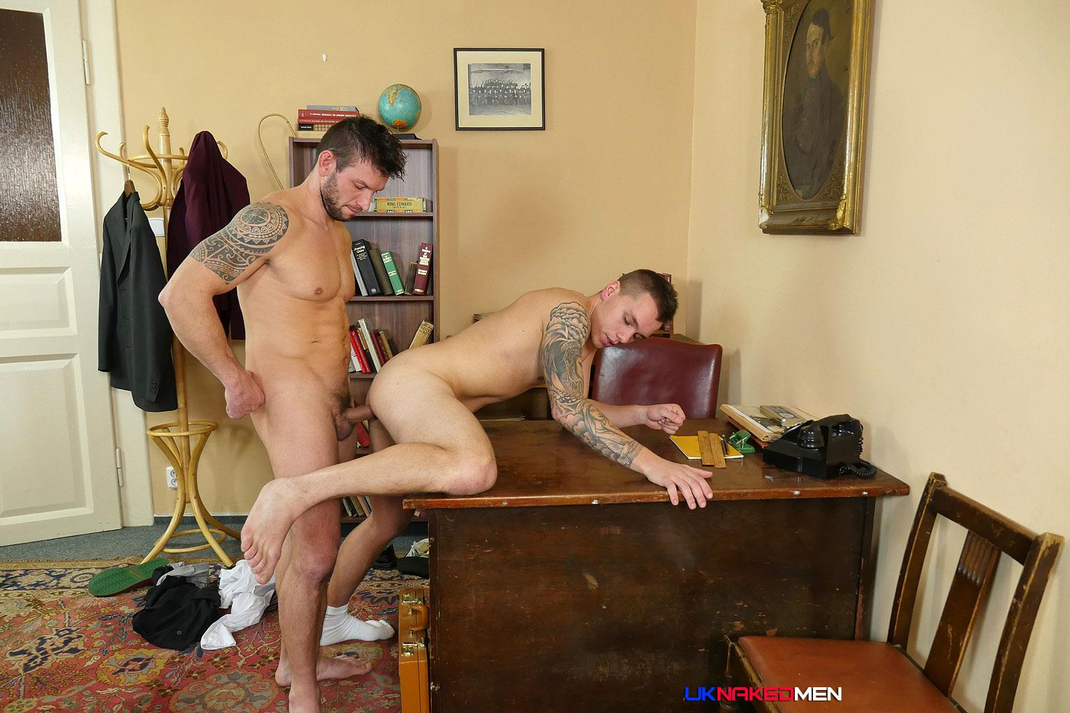 UK Naked Men Rado Zusila and Mickey Rush Uncut Cock Bareback Amateur Gay Porn 12 Younger British Guy Takes An Uncut Cock Up The Ass Bareback For The First Time