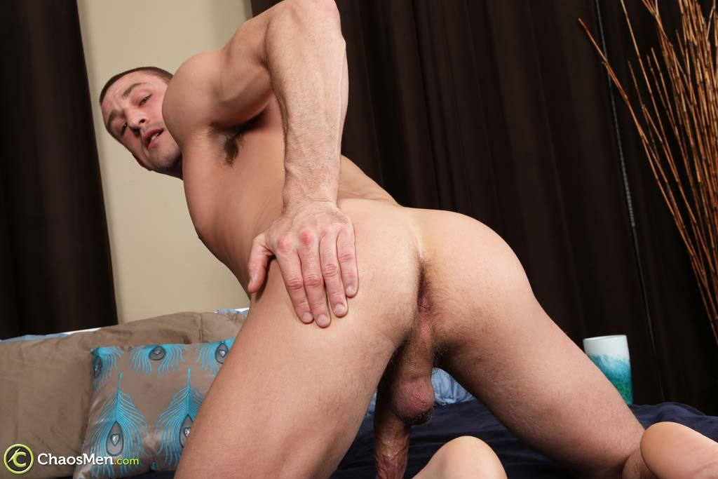 Chaosmen-Kirkland-Straight-Muscle-Hunk-Jerks-Big-Cock-Amateur-Gay-Porn-53 Straight Muscle Hunk Jerks His Big Dick When He Auditions For Gay Porn