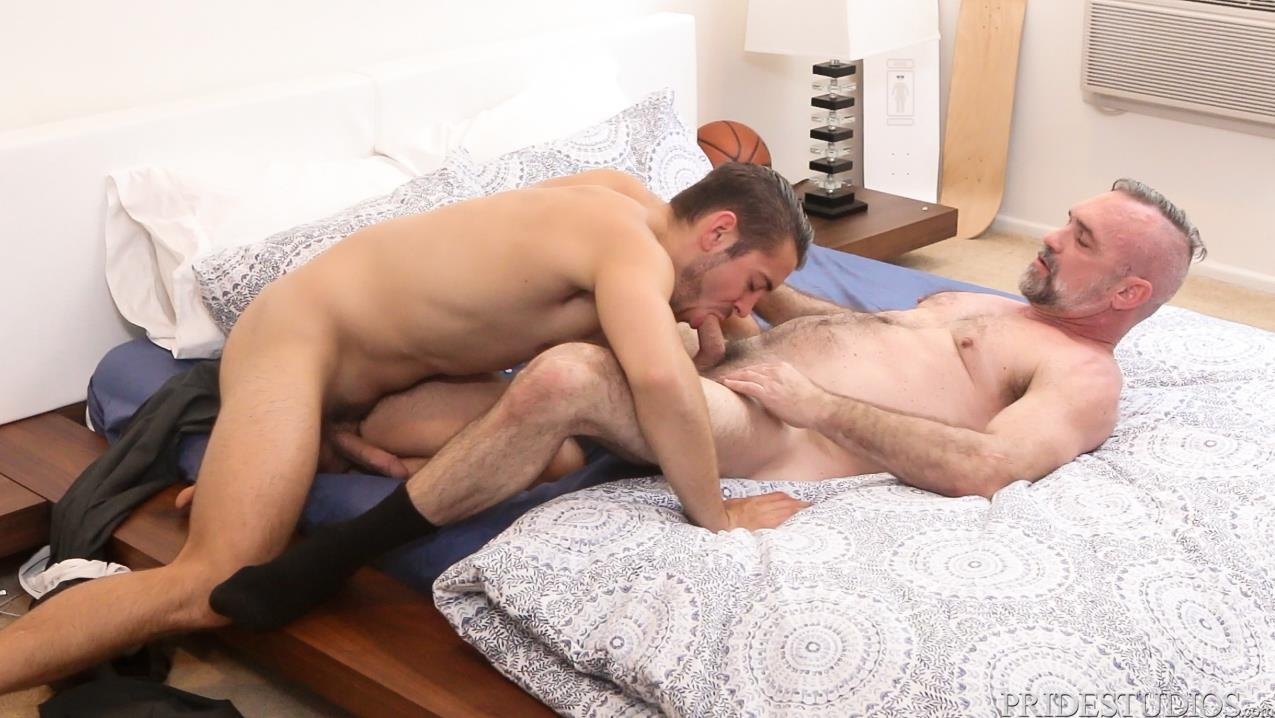 Dylan-Lucas-Dante-Colle-and-Peter-Rough-Hairy-Daddy-Getting-Fucked-09 Hairy Daddy Gets Fucked By Dante Colle For His Birthday